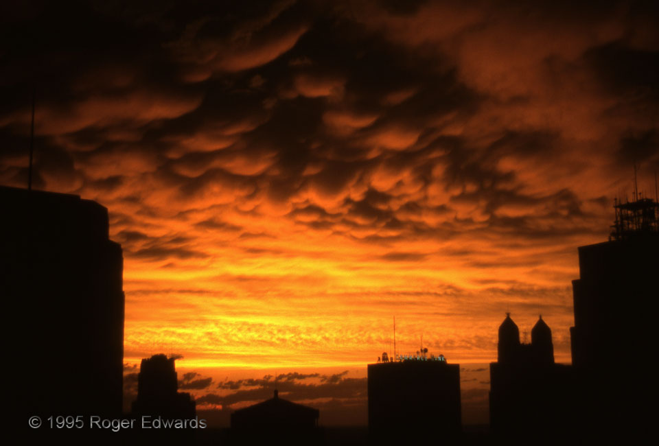 Sunset Framed by KC Skyline