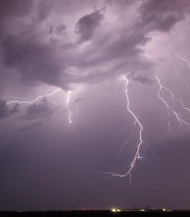 Electric Scythe in the Sky