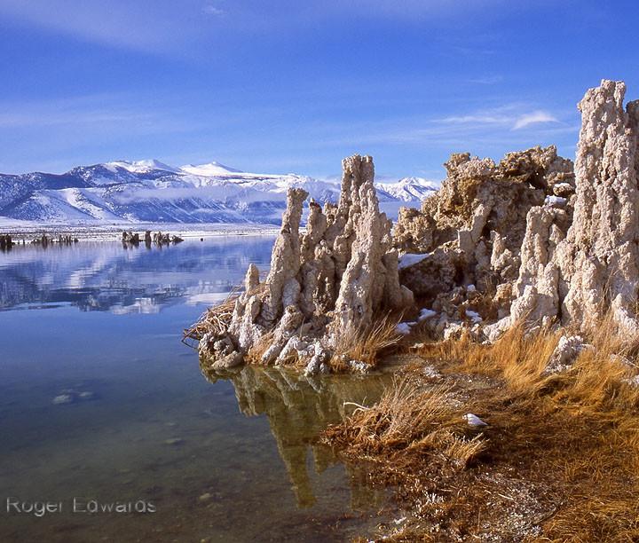 Wintertime at Mono Lake