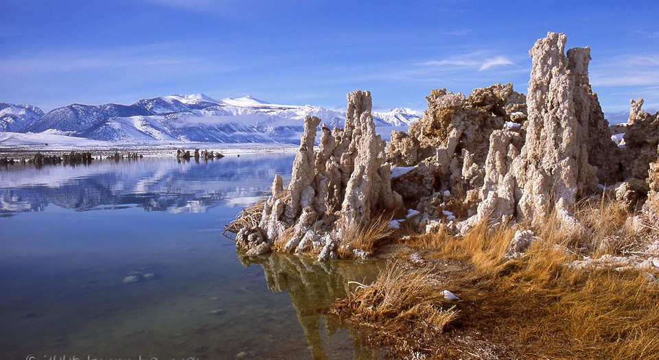 Wintertime at Mono Lake
