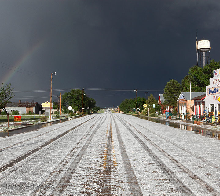 Hailstorm Exiting
