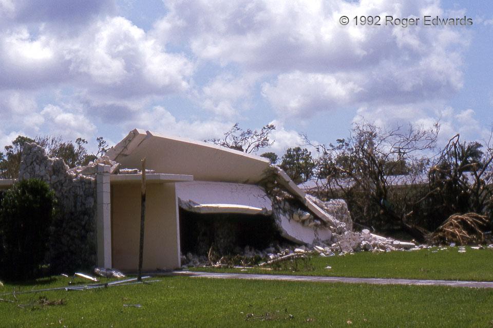 Fallen Bell Tower (Hurricane Andrew)