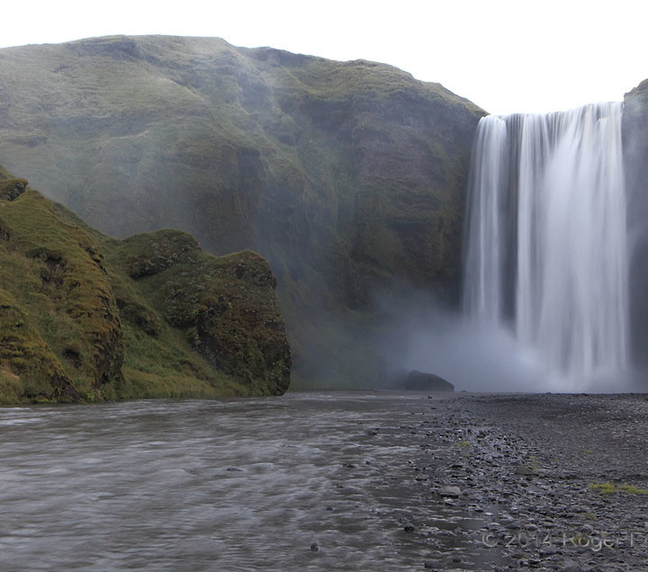 Skogafoss Spray