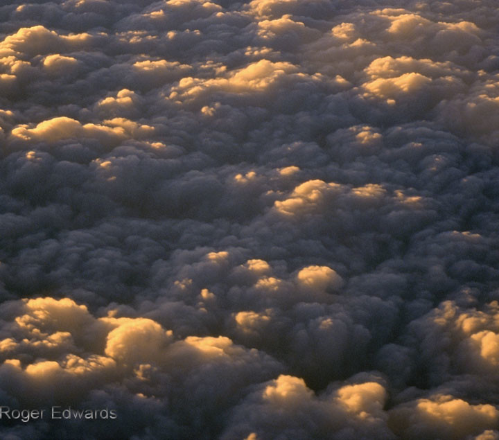 Sunrise Stratocumulus from Above