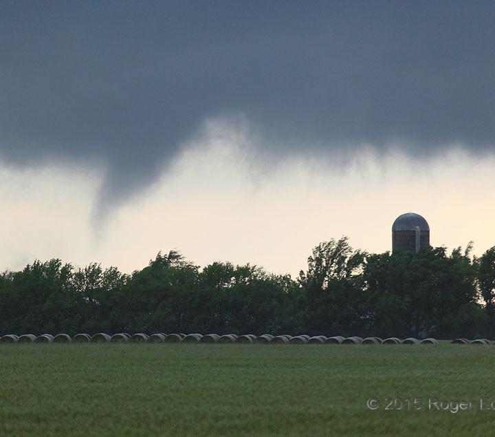 Threatening Sky over the Farm