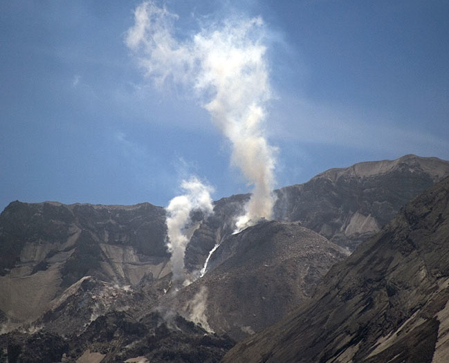 Volcanic Steam Eruption
