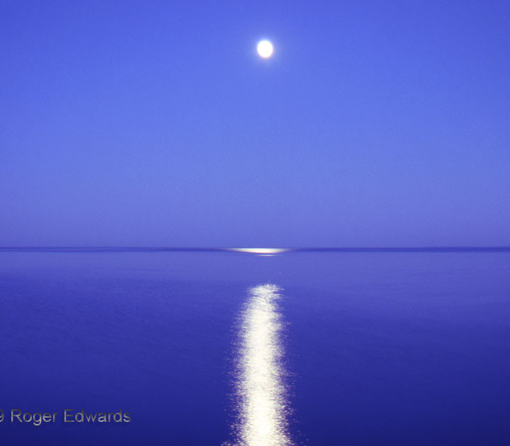 Lake Superior Moonrise