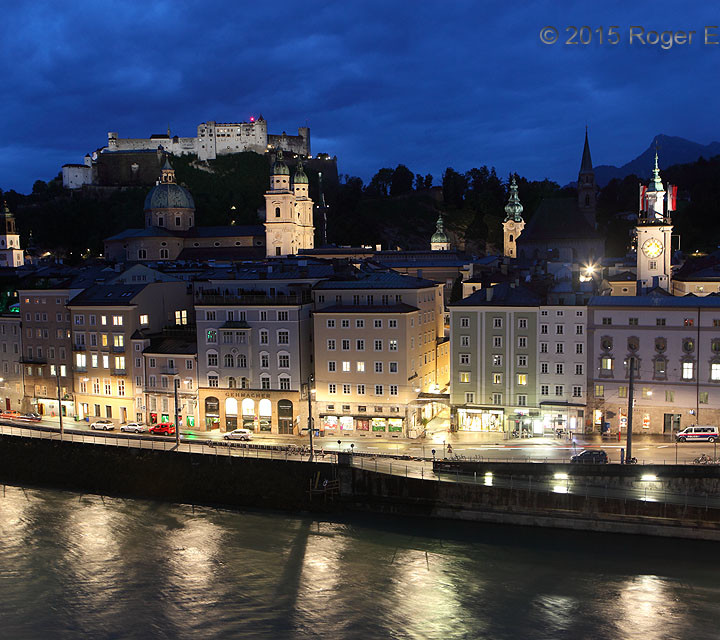 Salzburg Twilight Reflective