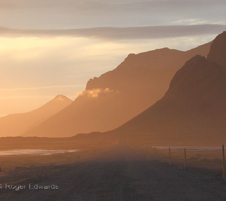 Late Light at Vesturhorn