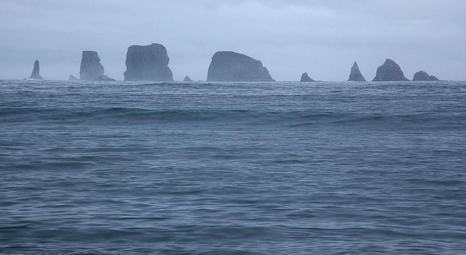 Seastack Skyline of the Quillayute Needles