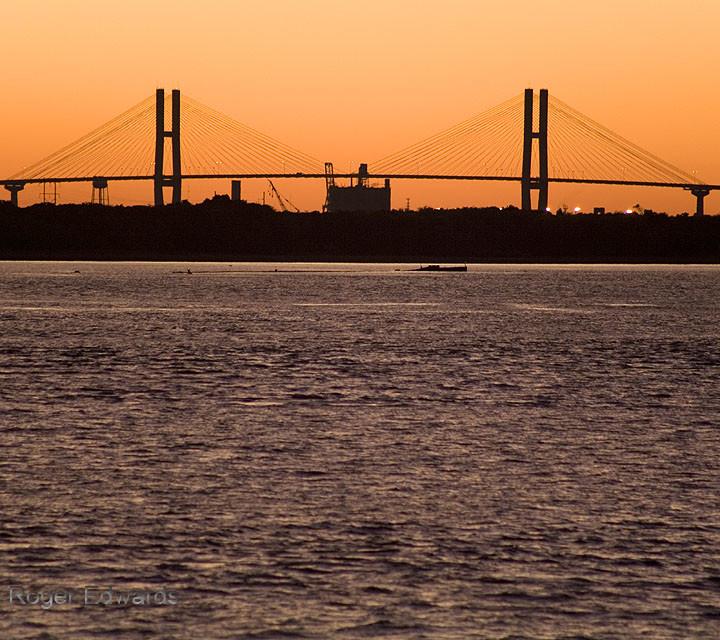 Bridge to an Auburn Sky