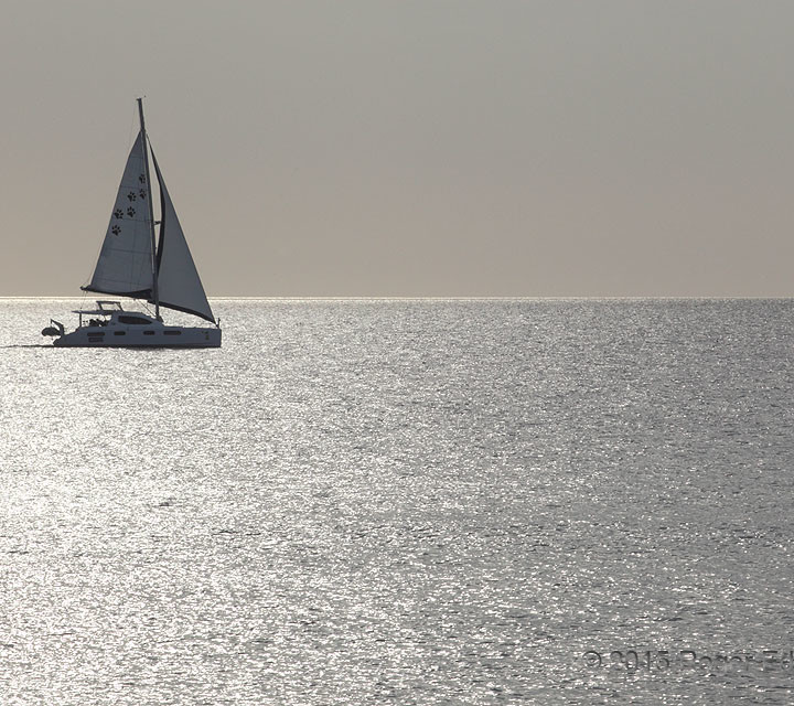 Ocean Reflective:  Sailing Captiva