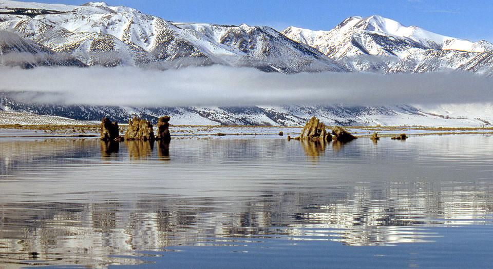 Stratus Band over Mono Lake