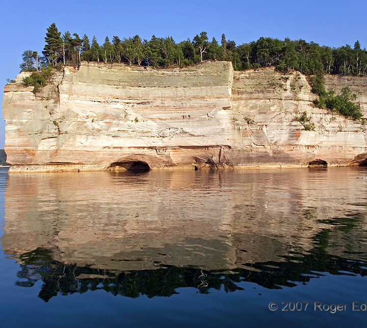 Reflections of Pictured Rocks