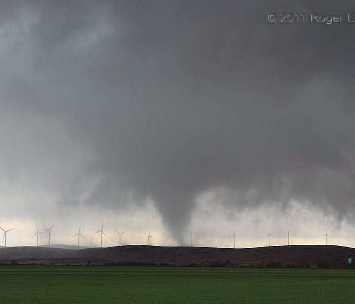 Wind Farm Tornado: Another Direct Hit