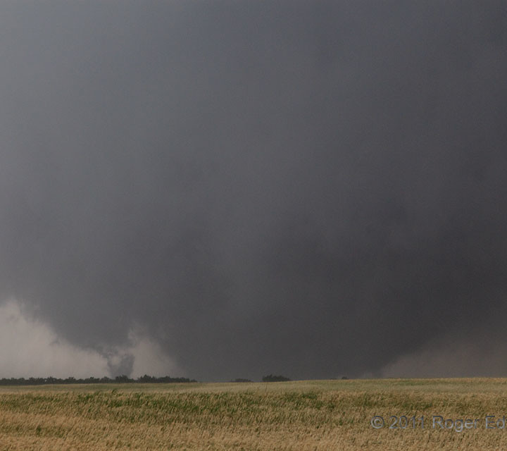 EF5 Wedge with Satellite Tornado