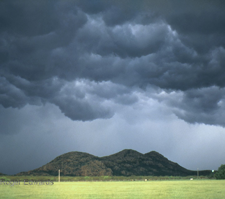 Squall Line in the Wichita Mountains