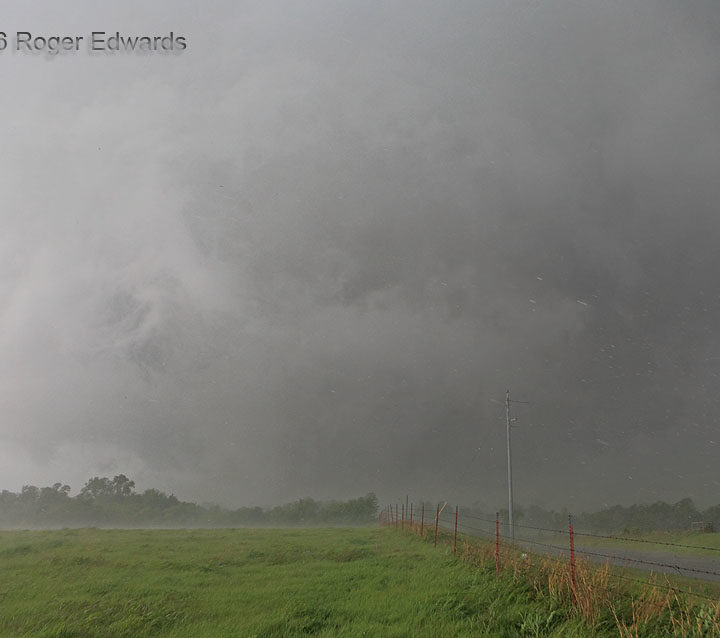 Hail-Hurling Hook around Sulphur Tornado
