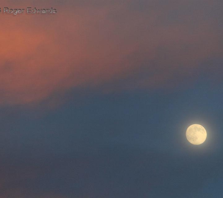 Sunset Light, Montana Moon