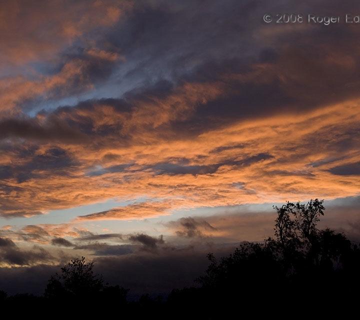 Scuddy Cirrus Sunset