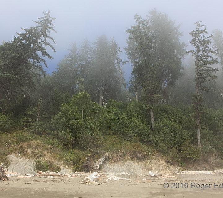 Blue Fog, Third Beach
