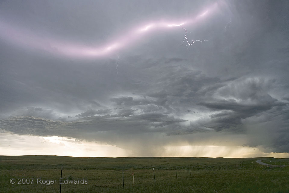 Lightning over Thunder Basin