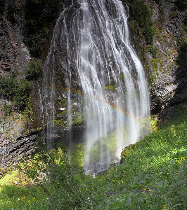 Morning at Narada Falls