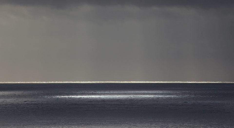 Spotlit Ocean