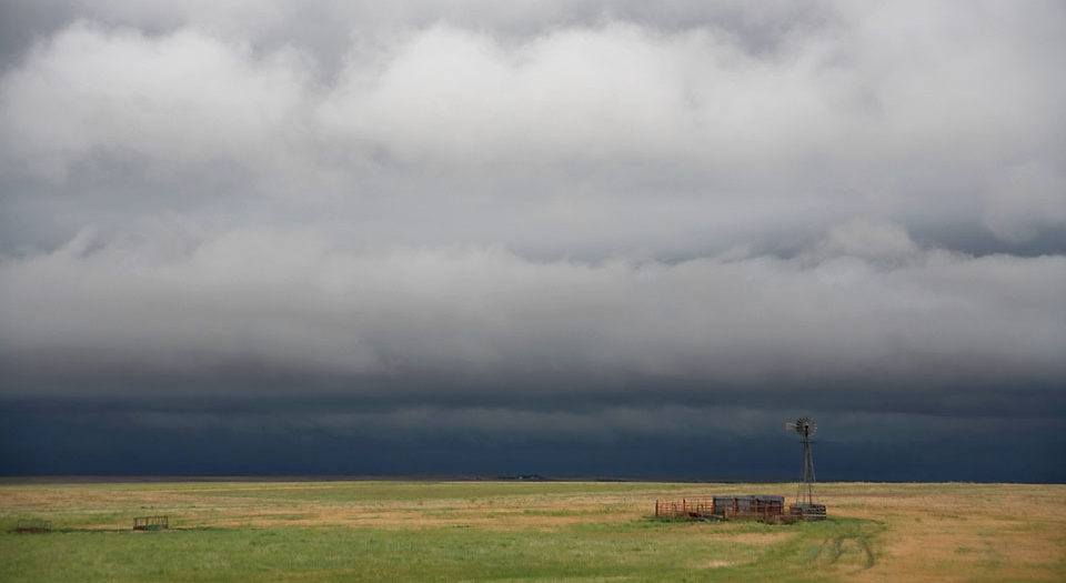 Nimbostratus on the High Plains