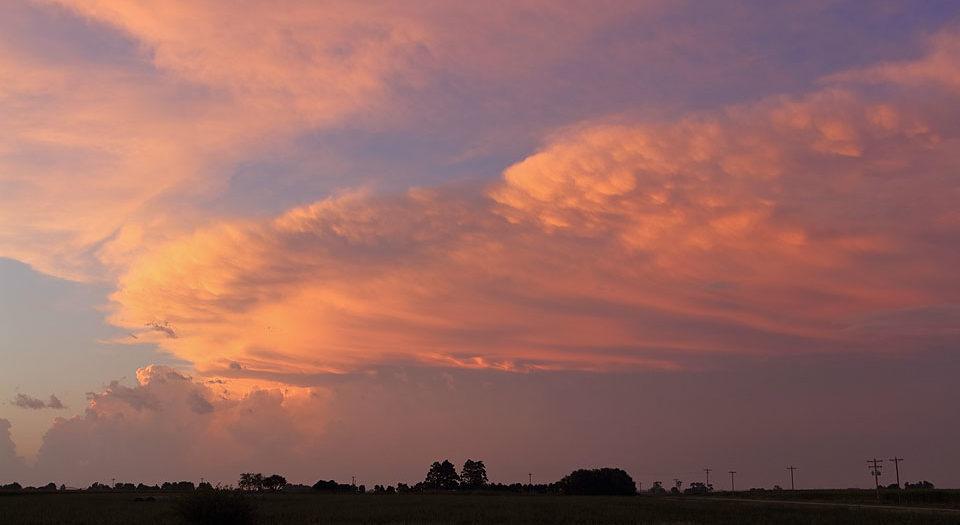 Summertime Supercellular Sunset