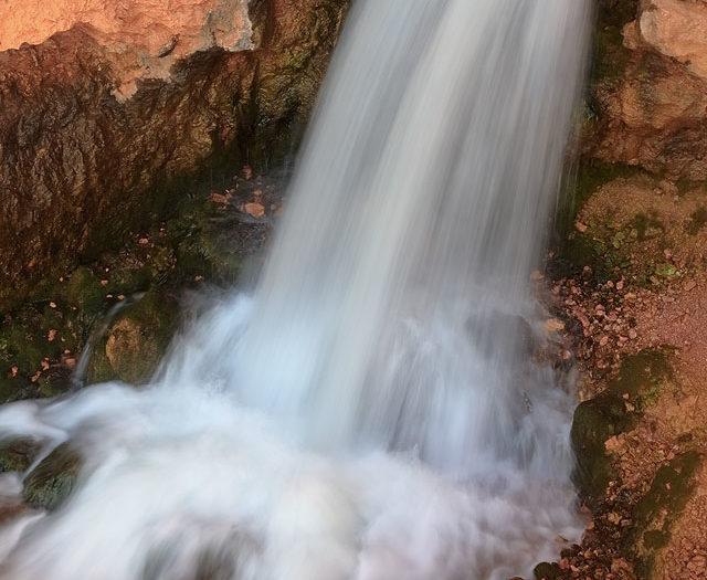 Cascade from Orange Rock