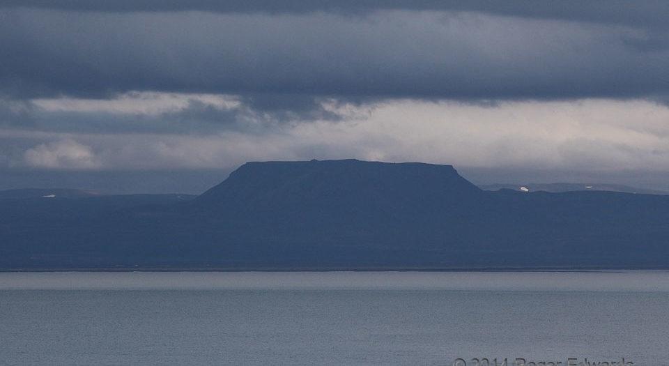 Somber Icelandic Stormscape