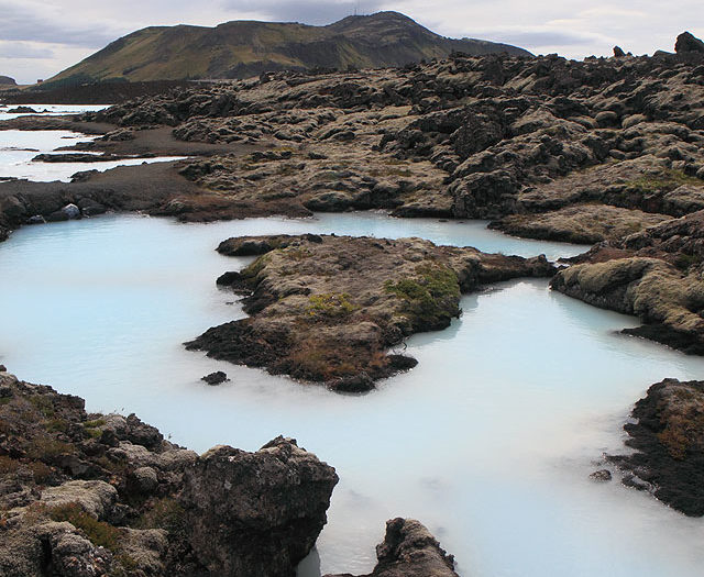 Blue Lagoon: Land and Sky
