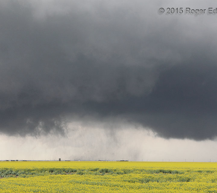 Between a Mesocyclone and a Tornado